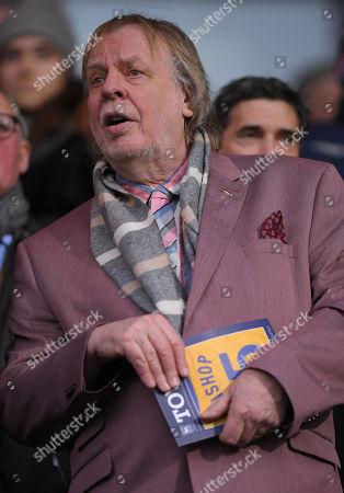 Musician and Ipswich Town fan Rick Wakeman
