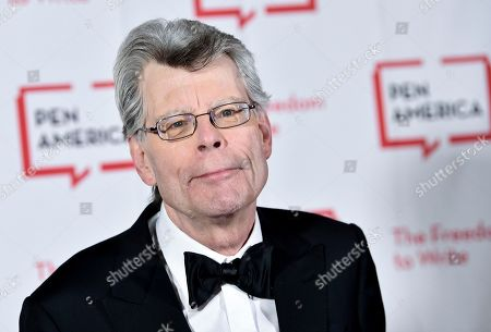 PEN literary service award recipient Stephen King attends the 2018 PEN Literary Gala at the American Museum of Natural History in New York. A Maine newspaper that horrified author Stephen King by dropping its local book review coverage is using his complaint to boost digital subscriptions. King, complained about the Portland Press Herald's decision to stop publishing freelance-written reviews of books about Maine or written by Maine authors and urged his 5.1 million Twitter followers to retweet his message