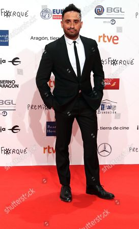 Juan Antonio Bayona poses for the media during the gala of the 24th Forque Awards held at Palacio de Congresos in Zaragoza, northern Spain, 12 January 2019.