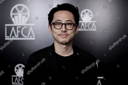 Steven Yeun attends the 44th Annual Los Angeles Film Critics Association Awards at the InterContinental Century City Hotel, in Los Angeles