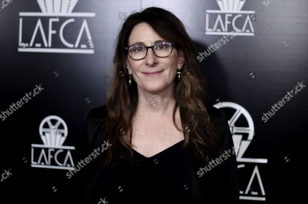 Nicole Holofcener attends the 44th Annual Los Angeles Film Critics Association Awards at the InterContinental Century City Hotel, in Los Angeles