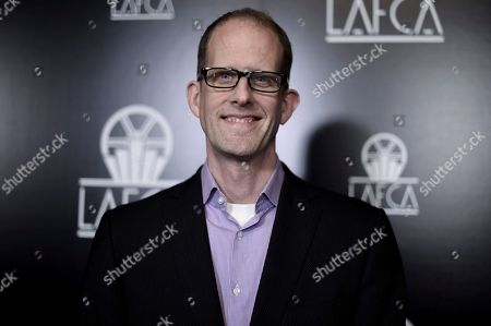 Pete Docter attends the 44th Annual Los Angeles Film Critics Association Awards at the InterContinental Century City Hotel, in Los Angeles