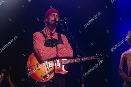 Editorial photo of Rayland Baxter in concert at Brooklyn Steel, USA - 11 Jan 2019