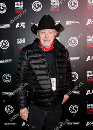 Bobby Bare arrives at Willie: Life & Songs Of An American Outlaw at Bridgestone Arena, in Nashville, Tenn