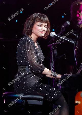 Norah Jones performs at Willie: Life & Songs Of An American Outlaw at Bridgestone Arena, in Nashville, Tenn