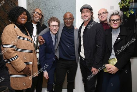 "Editorial image of Special Screening of ""If Beale Street Could Talk"" Hosted by Brad Pitt, Los Angeles, USA - 12 Jan 2019"