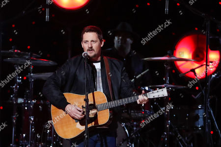 Sturgill Simpson performs at Willie: Life & Songs Of An American Outlaw at Bridgestone Arena, in Nashville, Tenn