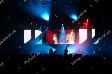 Editorial image of New Order in concert at The Fillmore, Miami Beach, USA - 12 Jan 2019