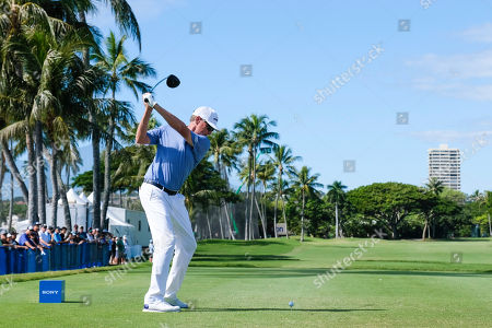 Editorial photo of PGA Golf Sony Open JAN12, Honolulu, USA - 12 Jan 2019