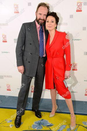 Ralph Fiennes and Chulpan Khamatova