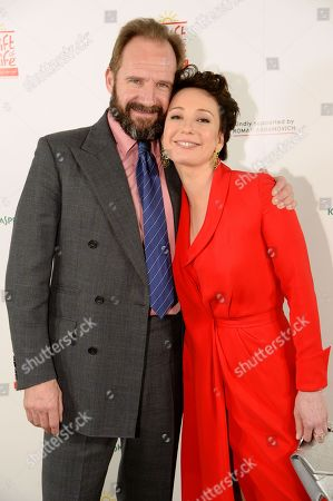 Stock Picture of Ralph Fiennes and Chulpan Khamatova