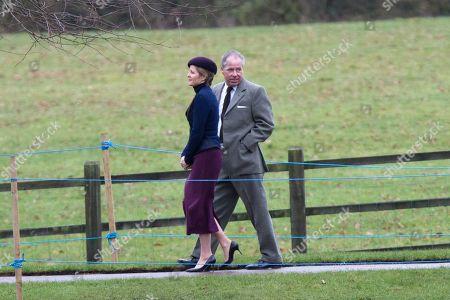 David Armstrong-Jones and his wife Serena Armstrong-Jones