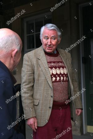 David Steel at Stow village hall in the Scottish Borders.
