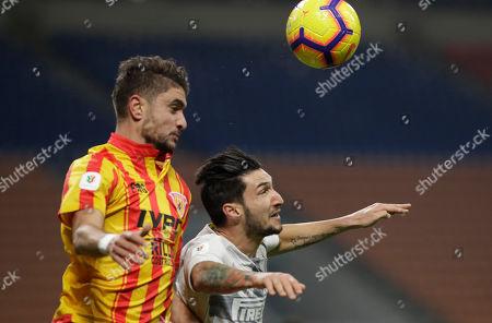 Editorial image of Soccer Italian Cup, Milan, Italy - 13 Jan 2019