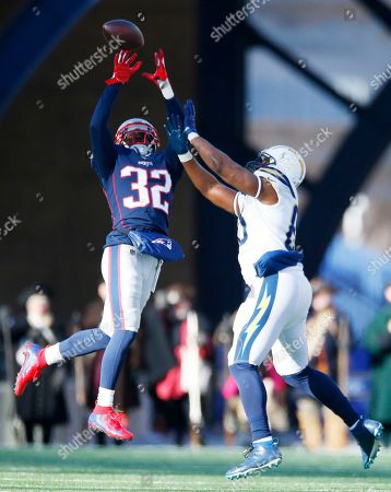 Editorial image of Los Angeles Chargers at New England Patriots, Foxborough, USA - 13 Jan 2019