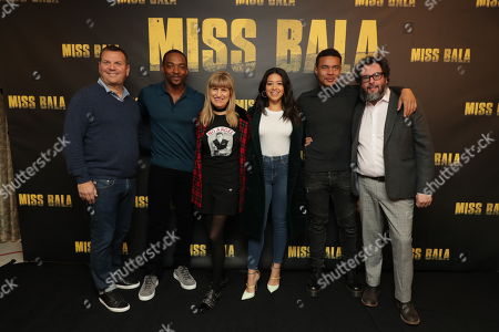 Producer Kevin Misher, Anthony Mackie, Director Catherine Hardwicke, Gina Rodriguez, Ismael Cruz Cordova and Producer Pablo Cruz
