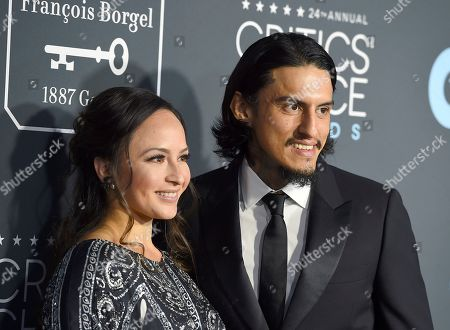Richard Cabral, right, and Janiece Sarduy