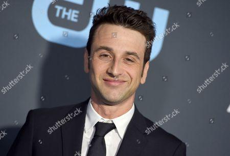 Justin Hurwitz arrives at the 24th annual Critics' Choice Awards, at the Barker Hangar in Santa Monica, Calif