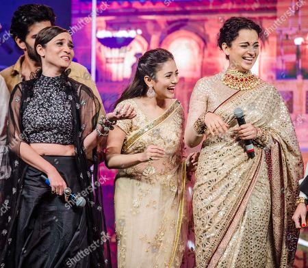 Kangana Ranaut, Ankita Lokhande and Mishti Chakraborty