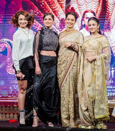 Unnati Davara, Kangana Ranaut, Ankita Lokhande and Mishti Chakraborty