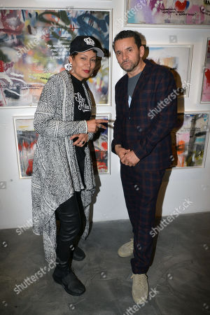 Editorial image of Lee Quinones 'If These Walls Could Talk' exhibition, Los Angeles, USA - 12 Jan 2019