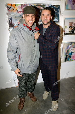 Editorial picture of Lee Quinones 'If These Walls Could Talk' exhibition, Los Angeles, USA - 12 Jan 2019