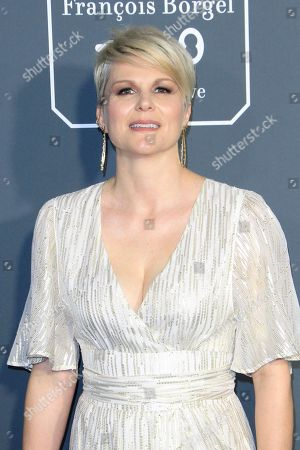 Jennifer Robertson arrives for the 24th Annual Critics' Choice Awards at Barker Hangar in Santa Monica, California, USA, 13 January 2019. The Critics' Choice Awards honors the finest in cinematic and television achievement.