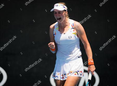 Editorial picture of Australian Open, Tennis, Day One, Melbourne Park, Melbourne, Australia - 14 Jan 2019