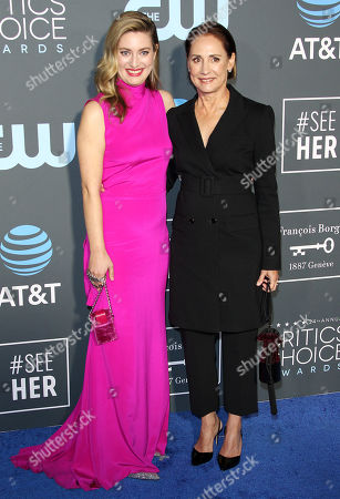 Zoe Perry, Laurie Metcalf