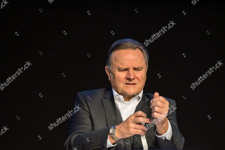 Alternative for Germany (AfD) Party deputy chairman Georg Pazderski during the European election convention (Europawahlversammlung) of the AfD in Riesa, Germany, 14 January 2019. The AfD gathers from 11 to 14 January 2019 in Riesa, for the election of their candidates for the European elections. European elections take place from 23 to 26 May 2019.
