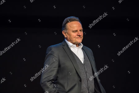 Stock Photo of Alternative for Germany (AfD) Party deputy chairman Georg Pazderski during the European election convention (Europawahlversammlung) of the AfD in Riesa, Germany, 14 January 2019. The AfD gathers from 11 to 14 January 2019 in Riesa, for the election of their candidates for the European elections. European elections take place from 23 to 26 May 2019.
