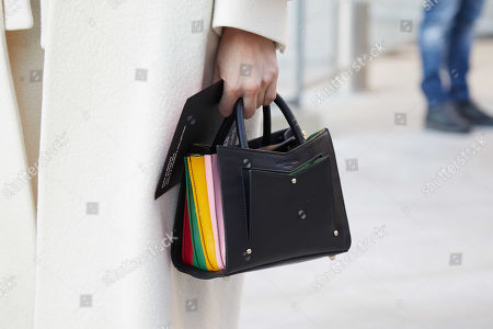Stock Image of Bag detail