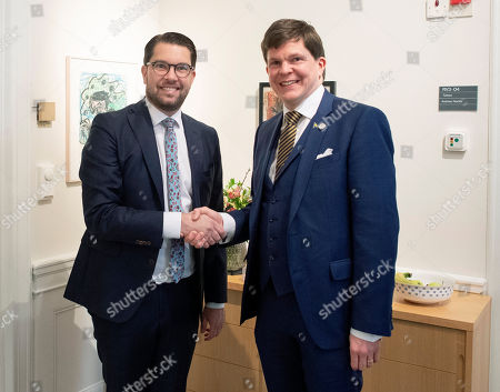 Editorial photo of Speaker of the Swedish Parliament will present a proposal for candidate for Prime Minister, Stockholm, Sweden - 14 Jan 2019