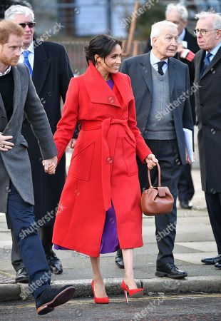 Prince Harry and Meghan Duchess of Sussex, Frank Field in Hamilton Square