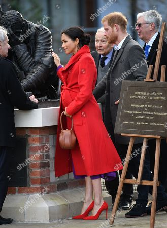 Editorial photo of Prince Harry and Meghan Duchess of Sussex visit to Birkenhead, UK - 14 Jan 2019