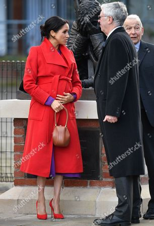 Meghan Duchess of Sussex, Frank Field in Hamilton Square