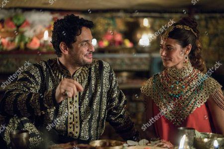 Kal Naga as Ziyadat Allah and Karima McAdams as Kassia