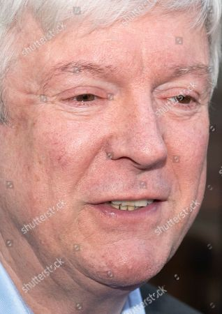 BBC Director General, Tony Hall talks outside the BBC Wogan House in London, Britain, 14 January 2019. Zoe Ball is the first woman to host a show in the breakfast slot on the BBC radio station replacing Chris Evans as new radio presenter.