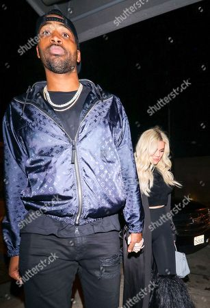 Stock Picture of Khloe Kardashian and Tristan Thompson