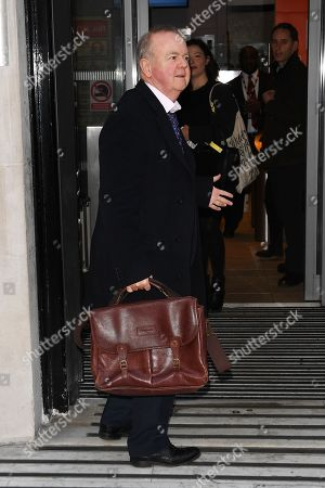 Editorial image of Ian Hislop out and about, London, UK - 14 Jan 2019