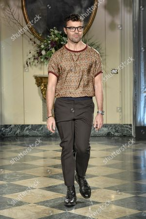 Stock Picture of Rocco Iannone on the catwalk