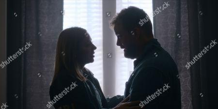 MacKenzie Porter as Marcy Warton and Patrick Gilmore as David Mailer