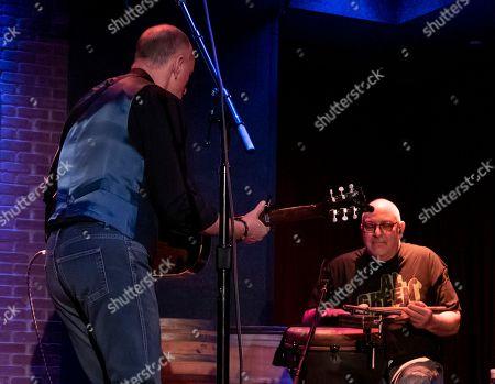 Marc Cohn, Joe Bonadio. American pop/folk singer Marc Cohn performs with percussionist Joe Joe Bonadio at City Winery Boston, in Boston