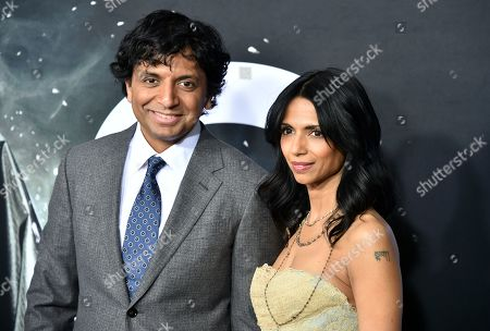 Wife Of M Night Shyamalan Stock Pictures, Editorial Images
