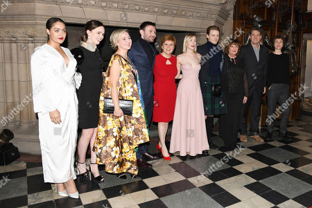 Izuka Hoyle, Eileen O'Higgins, Josie Rourke, James McArdle, Nicola Sturgeon, Saoirse Ronan, Jack Lowden, Fiona Hyslop, Tim Bevan and Karen Dunbar