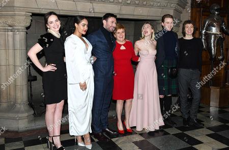 Eileen O'Higgins, Izuka Hoyle, James McArdle, Nicola Sturgeon, Saoirse Ronan, Jack Lowden and Karen Dunbar
