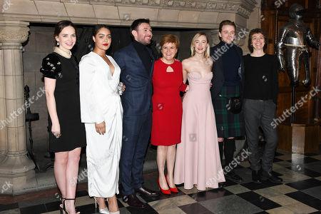 Editorial image of 'Mary Queen of Scots' film premiere, Edinburgh Castle, Edinburgh, UK - 14 Jan 2019