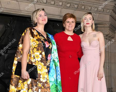 Josie Rourke, Nicola Sturgeon, Saoirse Ronan