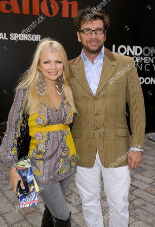 Hannah Sandling and Nick Knowles