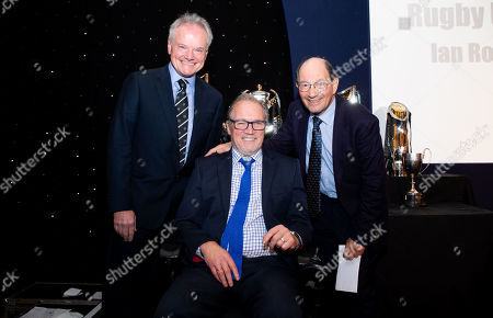 Ed Marriage (L) & Alastair Hignell (centre) & Ian Robertson  (Robbo)